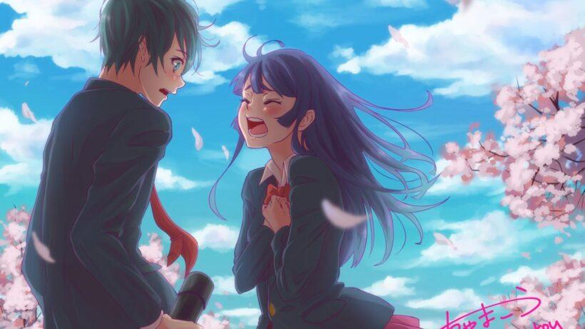 Top 444 Anh Anime Tinh Yeu Dep Nhat Sieu Ngot Ngao 17