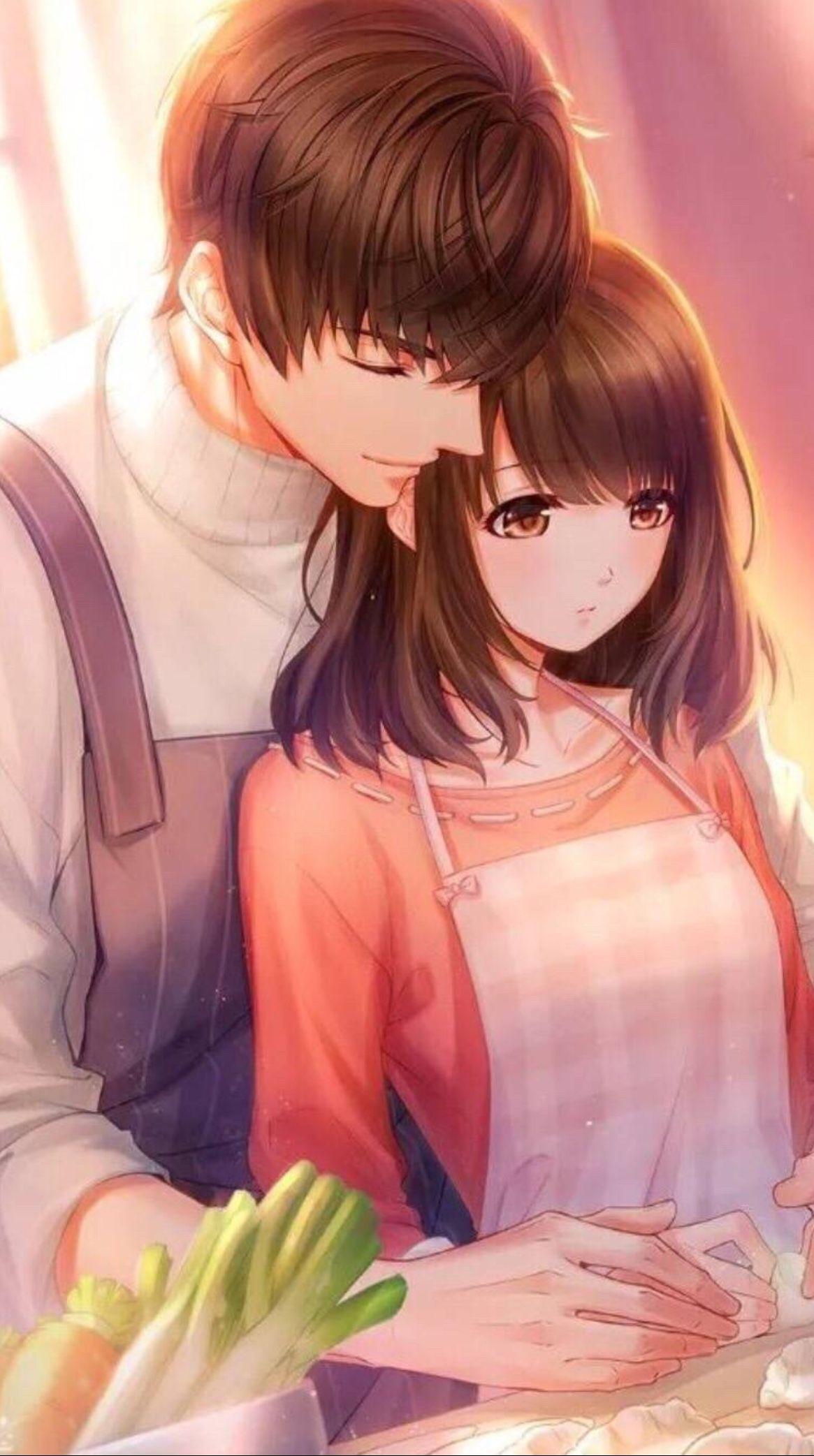 Top 444 Anh Anime Tinh Yeu Dep Nhat Sieu Ngot Ngao 19