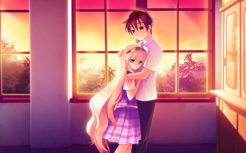 Top 444 Anh Anime Tinh Yeu Dep Nhat Sieu Ngot Ngao 23