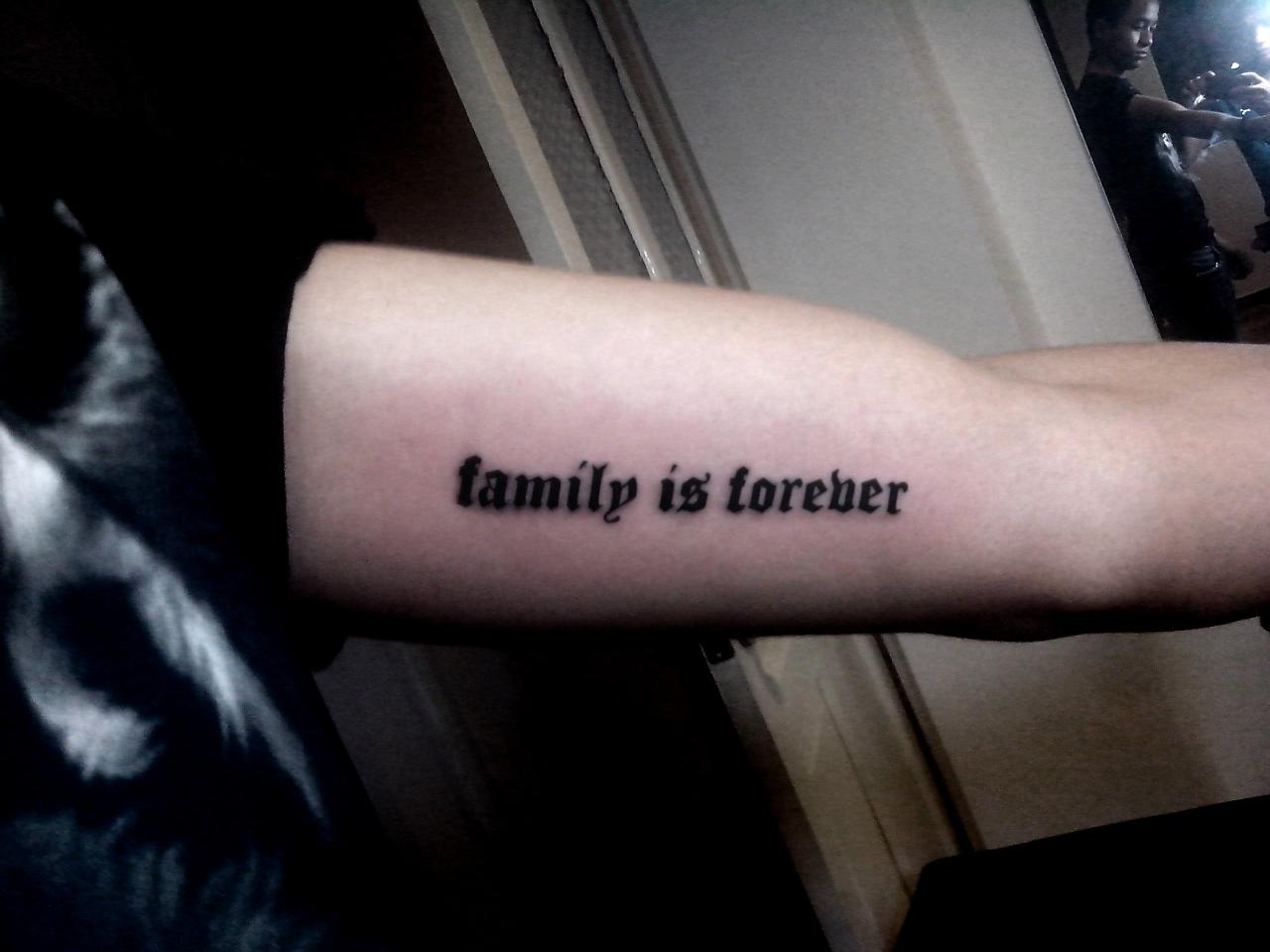 55+ hình xăm Family, xăm chữ Family cực đẹp, ấn tượng