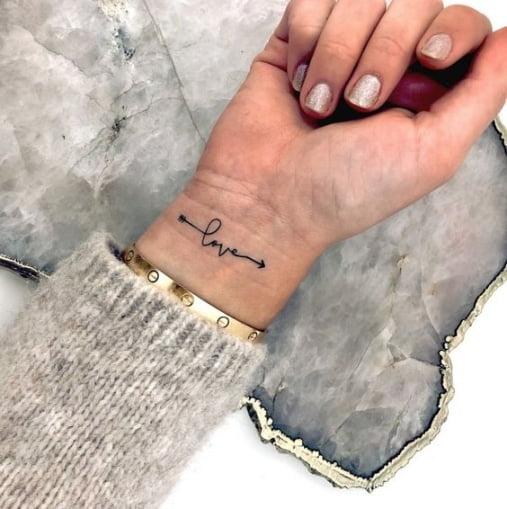 Bộ sưu tập 66 hình xăm chữ ở cổ tay đẹp ý nghĩa cho nam và nữ