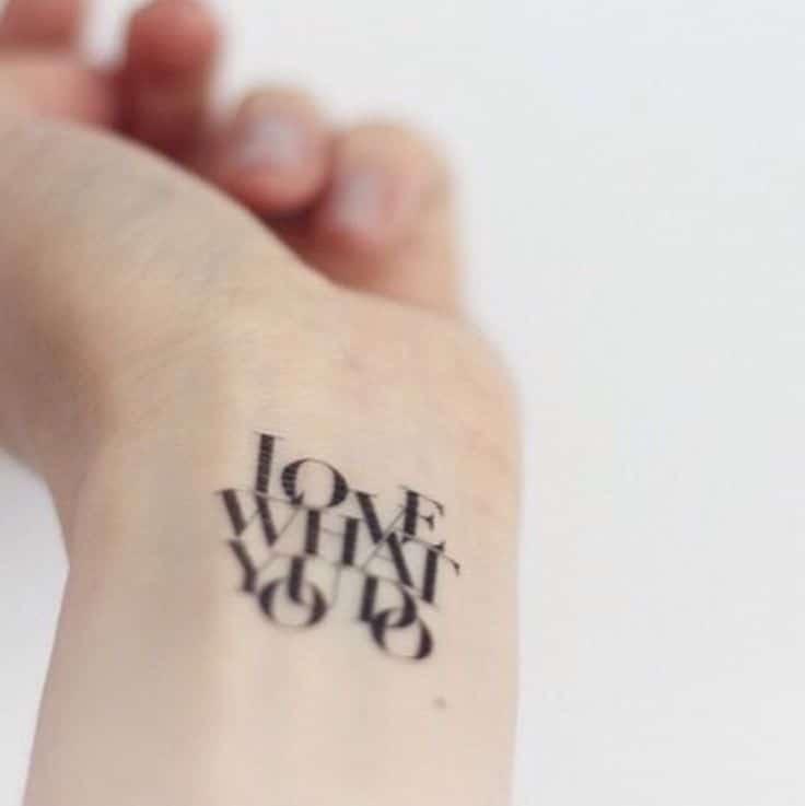 Chiêm ngưỡng 82 hình xăm chữ ở tay cho nữ đẹp tuyệt đỉnh